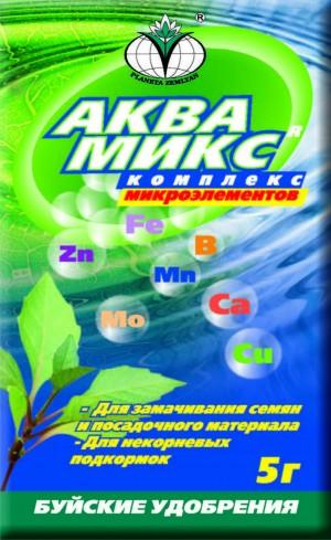 «Аквамикс» микроэлементный комплекс