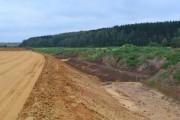 Задернение крутых склонов автомагистралей